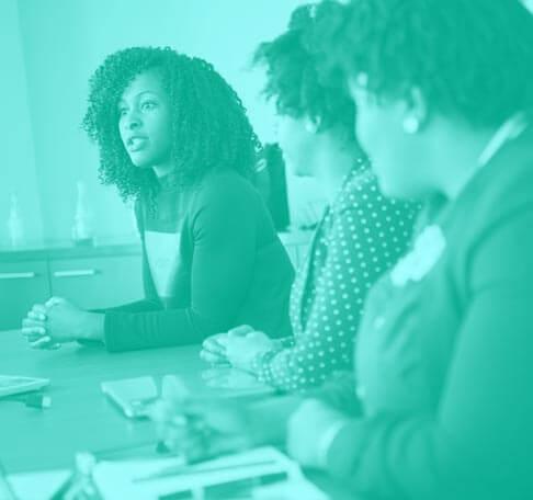 female investor meeting